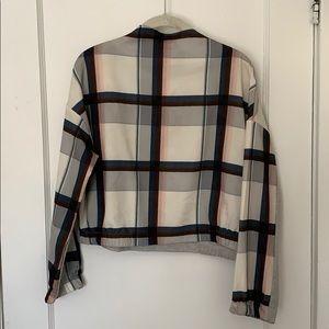 Zara plaid sweater! Size S. Worn once!